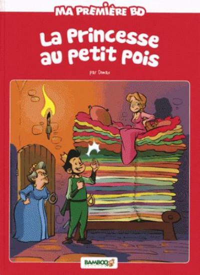 Couverture La princesse au petit pois - nouvelle edition