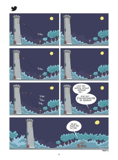 Page 0 Autour d'Odile tome 1