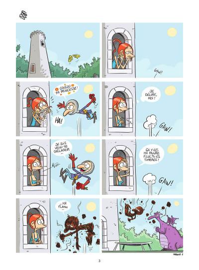 Page 4 Autour d'Odile tome 1