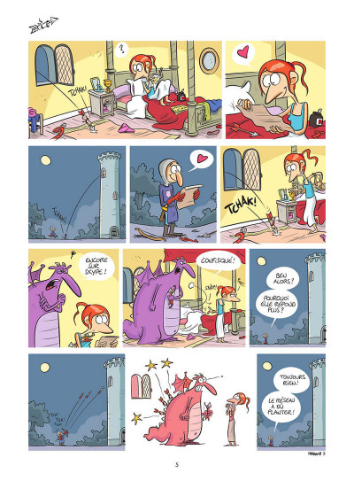 Page 6 Autour d'Odile tome 1