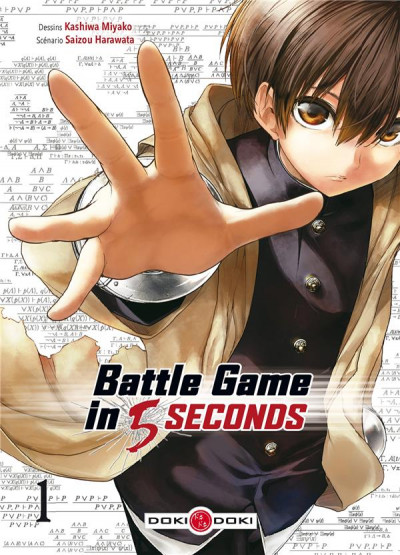 Couverture Battle game in 5 seconds tome 1