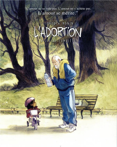 Couverture L'adoption - écrin collector tome 1 + tome 2