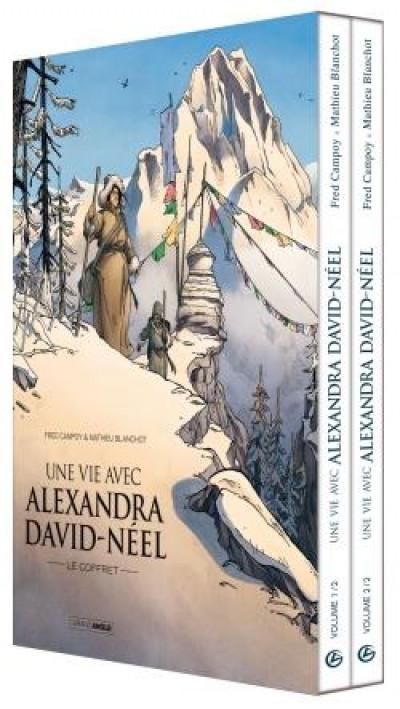 Couverture Une vie avec Alexandra David-Néel - coffret tomes 1 + 2
