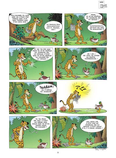 Page 0 L'écho de la jungle tome 1