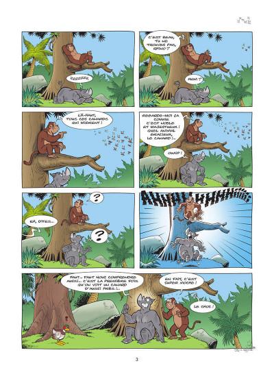 Page 4 L'écho de la jungle tome 1