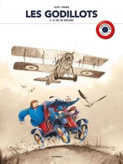 Couverture Les godillots - édition centenaire 14 - 18 tome 3