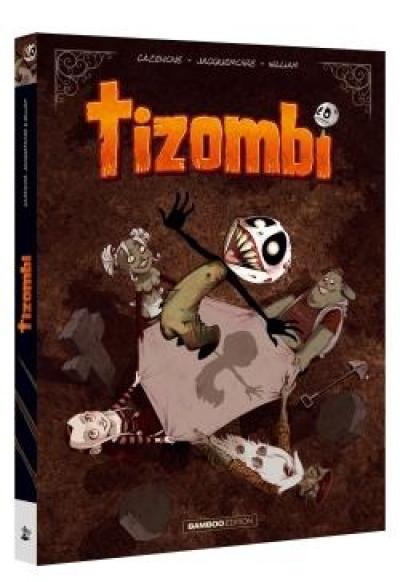 Couverture Tizombi - écrin tomes 1 et 2