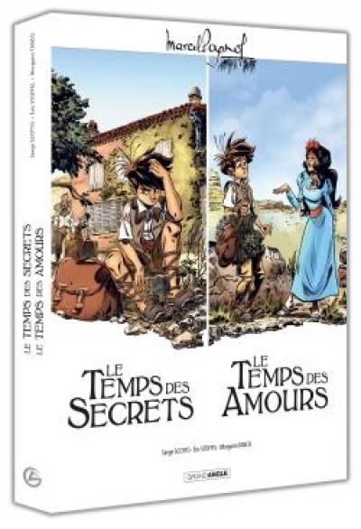 Couverture Écrin - Le temps des secrets + Le temps des amours