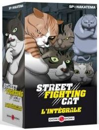 Couverture Street fighting cat - coffret tomes 1 à 4