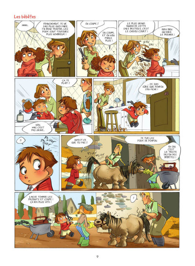 Page 0 Camomille et les chevaux tome 4