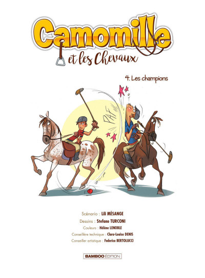 Page 2 Camomille et les chevaux tome 4