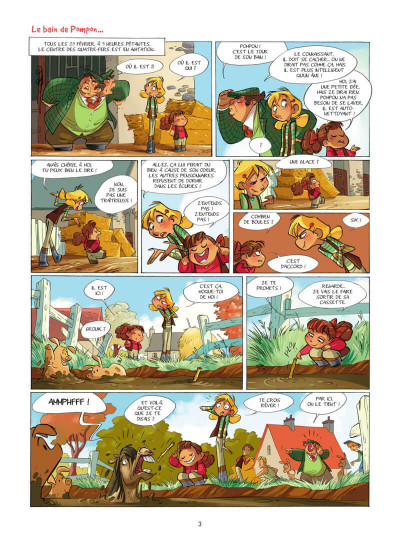 Page 4 Camomille et les chevaux tome 4