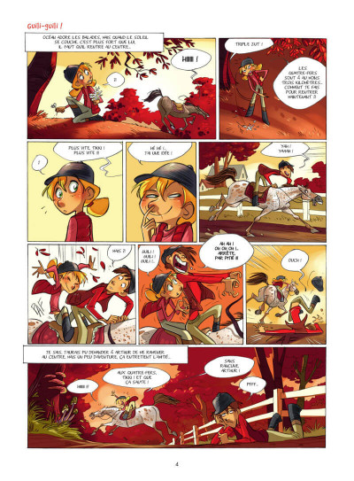 Page 5 Camomille et les chevaux tome 4
