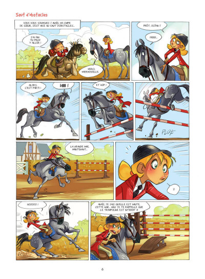 Page 7 Camomille et les chevaux tome 4