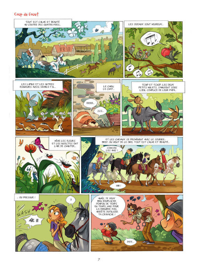 Page 8 Camomille et les chevaux tome 4