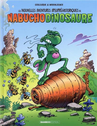 Couverture Les nouvelles aventures de nabuchodinosaure tome 2