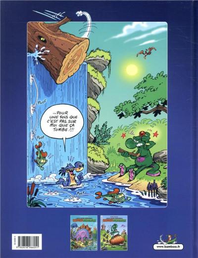 Dos Les nouvelles aventures de nabuchodinosaure tome 2