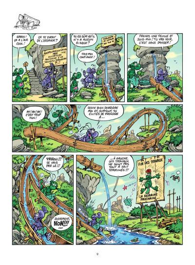 Page 0 Les nouvelles aventures de nabuchodinosaure tome 2
