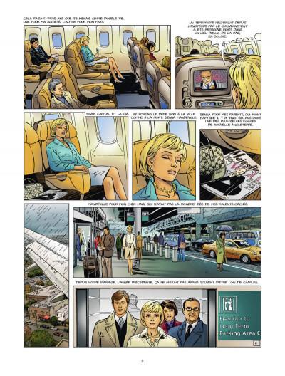 Page 9 Sienna - intégrale tome 1