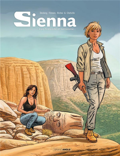 Couverture Sienna - intégrale tome 2