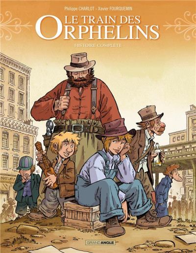 Couverture Le train des orphelins - intégrale tomes 3 et 4