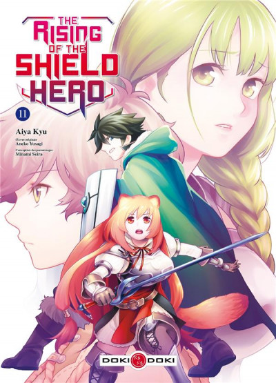Couverture The rising of the shield hero tome 11