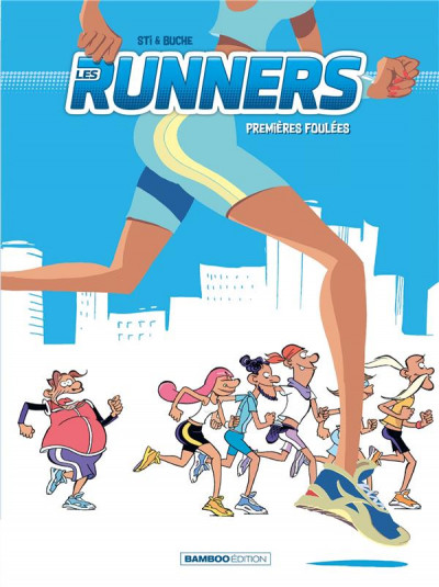 Couverture Les runners tome 1