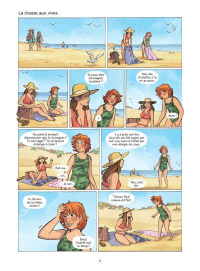 Page 0 Les amies de papier tome 3