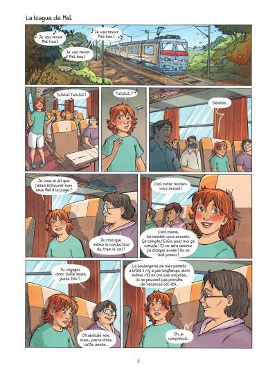 Page 4 Les amies de papier tome 3