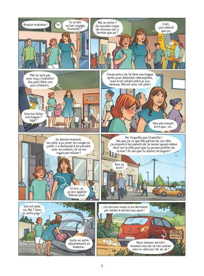Page 6 Les amies de papier tome 3