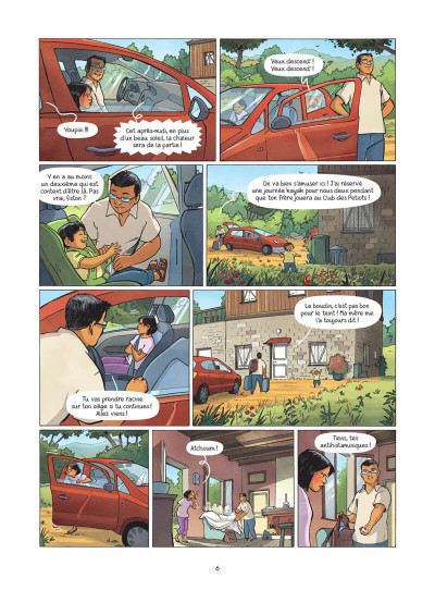 Page 7 Les amies de papier tome 3