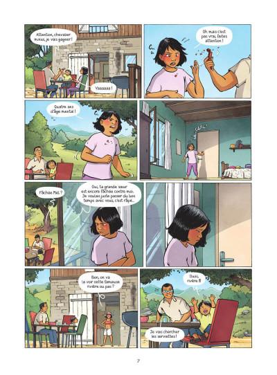 Page 8 Les amies de papier tome 3