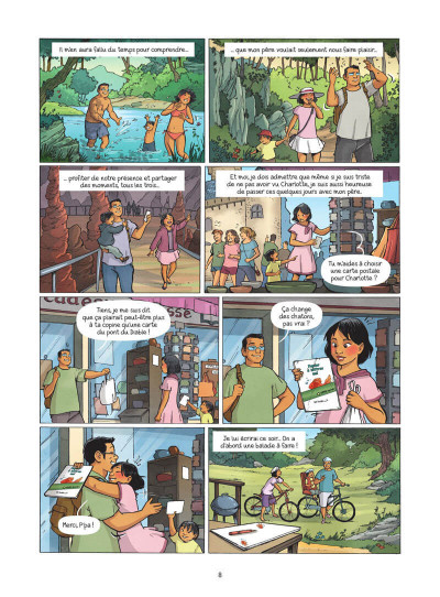 Page 9 Les amies de papier tome 3