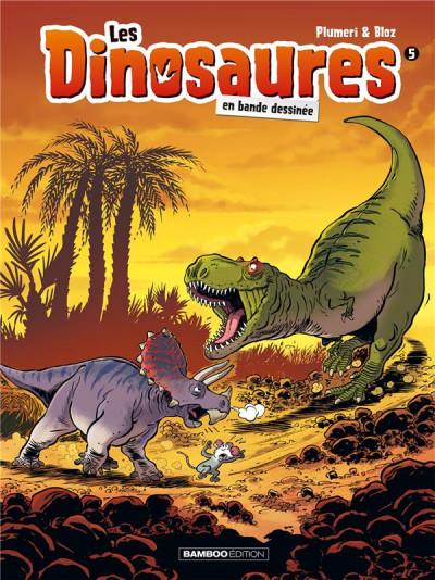 Couverture Les dinosaures en BD tome 5