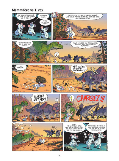 Page 4 Les dinosaures en BD tome 5