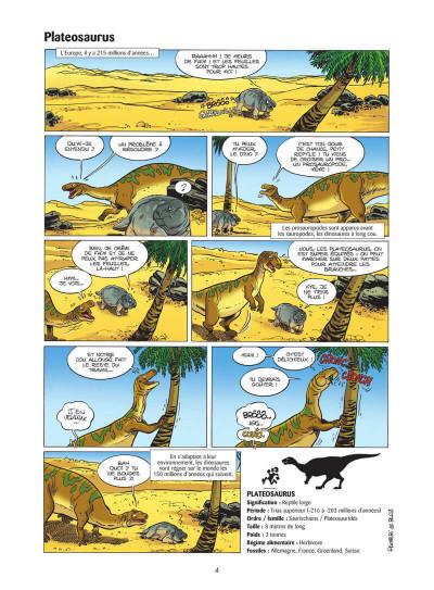 Page 5 Les dinosaures en BD tome 5