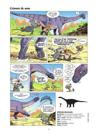 Page 7 Les dinosaures en BD tome 5