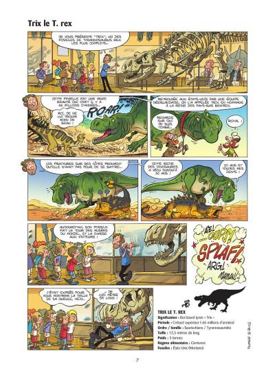 Page 8 Les dinosaures en BD tome 5