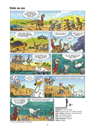 Page 9 Les dinosaures en BD tome 5