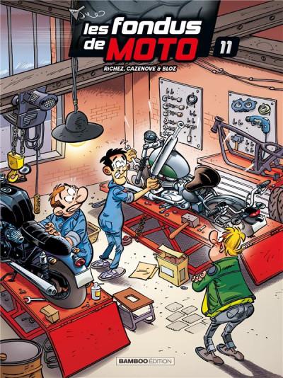 Couverture Les fondus de moto tome 11
