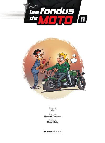 Page 2 Les fondus de moto tome 11