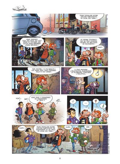 Page 9 Les fondus de moto tome 11