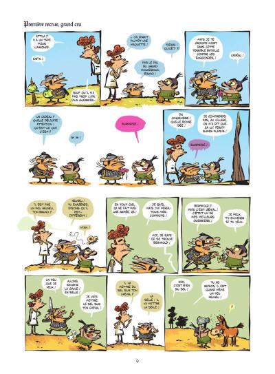 Page 0 Le club des Huns tome 1