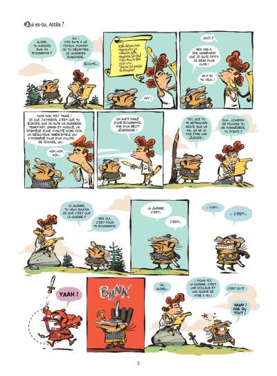 Page 4 Le club des Huns tome 1