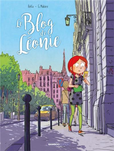 Couverture Le blog de Leonie