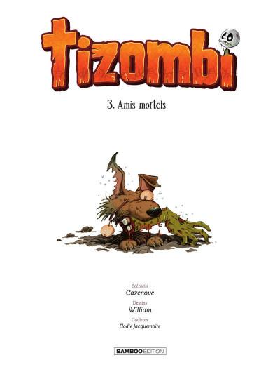 Page 2 Tizombi tome 3