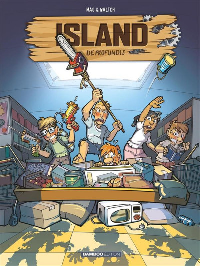 Couverture Island tome 2