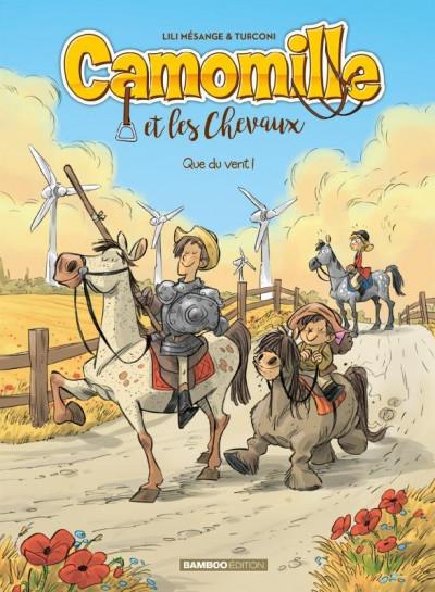 Couverture Camomille et les chevaux tome 7