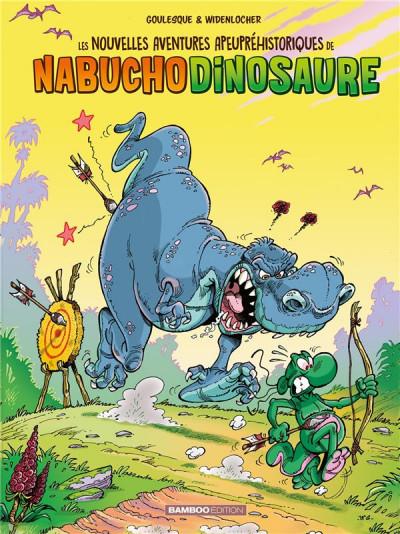 Couverture Les nouvelles aventures de Nabuchodinosaure tome 3