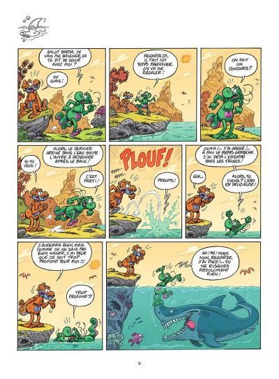 Page 0 Les nouvelles aventures de Nabuchodinosaure tome 3